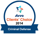 AVVO 2014 Client's Choice Criminal Defense